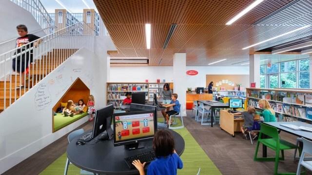 Interior children's area of CLP-Beechview