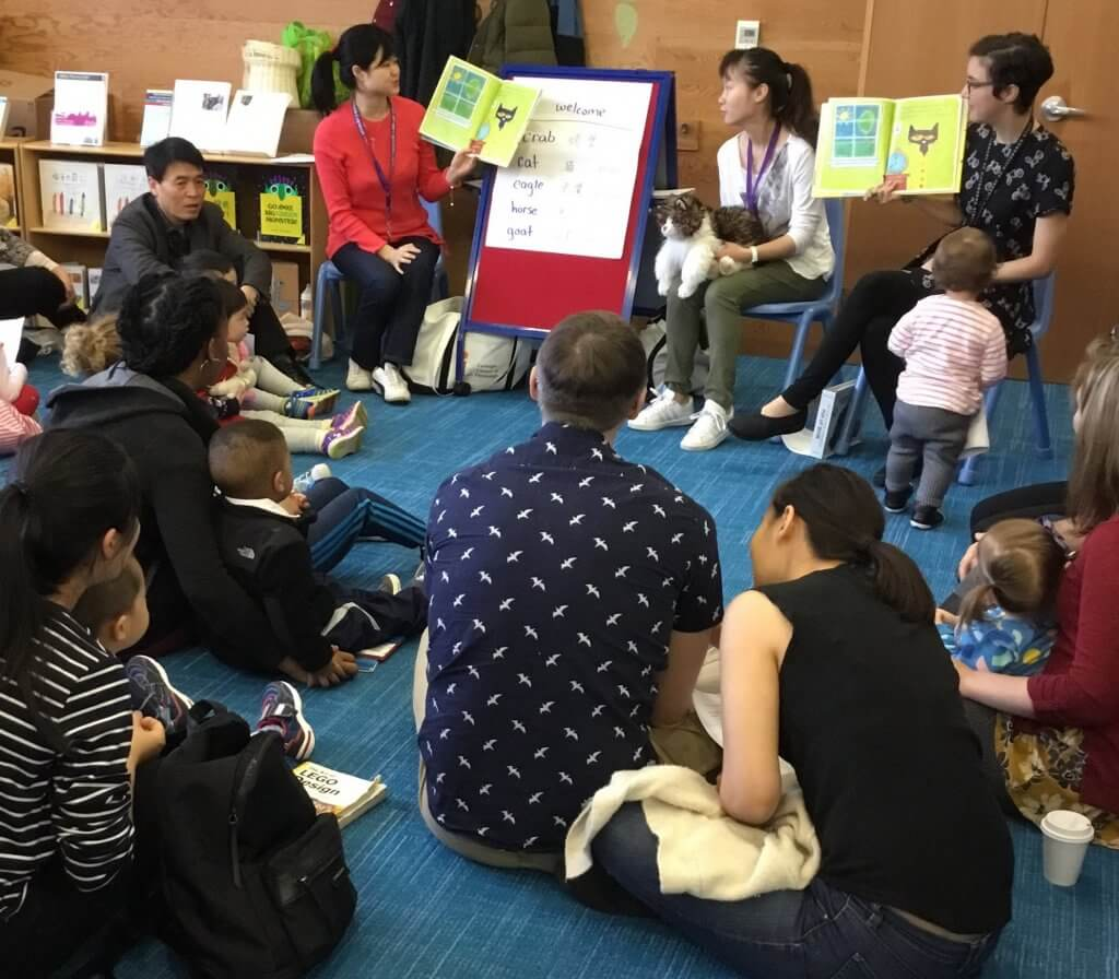 Presenting Chinese and English Storytime at CLP - Squirrel Hill