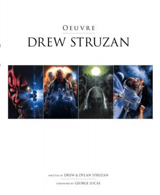 Oeuvre Drew Struzan cover