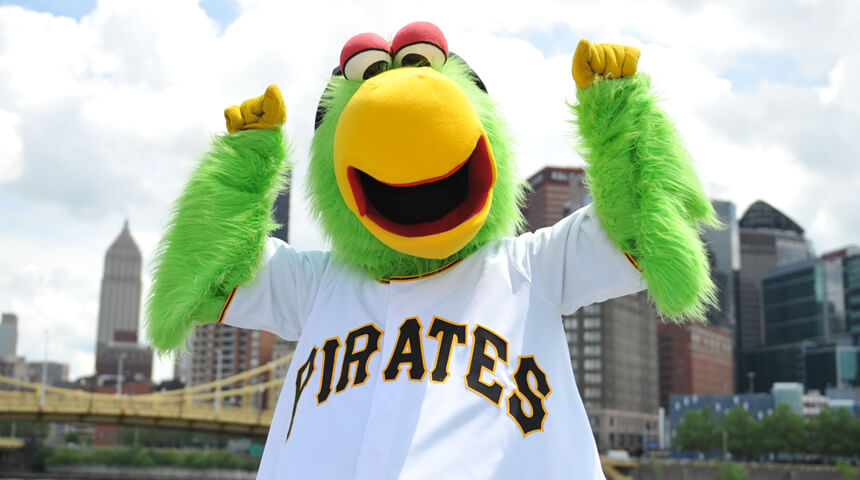 Pittsburgh Pirates Parrot