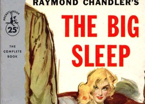 Cover image of The Big Sleep by Raymond Chandler