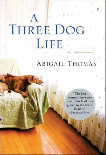 """Cover of """"A Three Dog Life"""" by Thomas"""