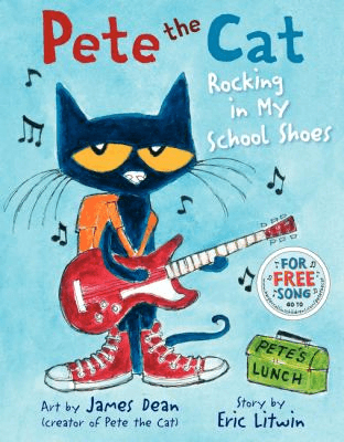 Bookcover for Pete the Cat: Rocking in My School Shoes