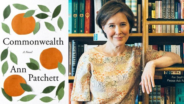 Ann Patchett and her book cover