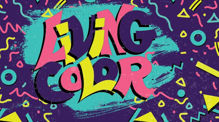 """Living Color"" art"