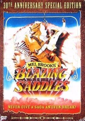 Blazing Saddles cover art