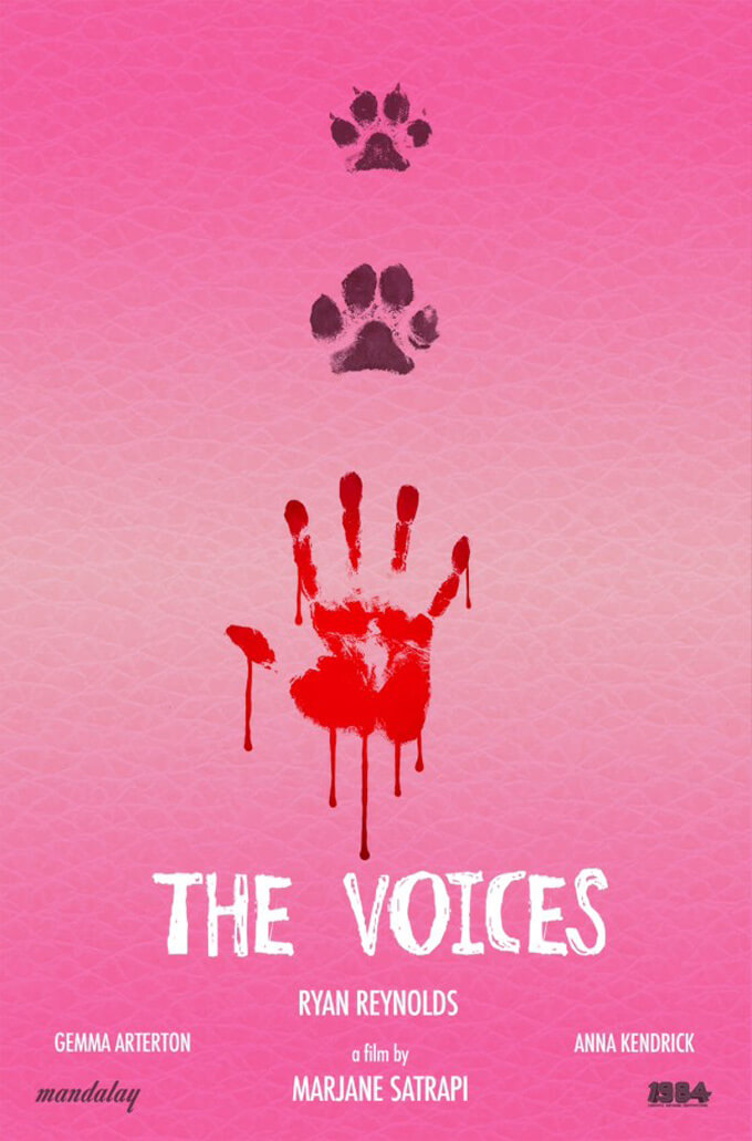 The Voices teaser poster