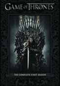 Cover for the first season dvd of Game of Thrones