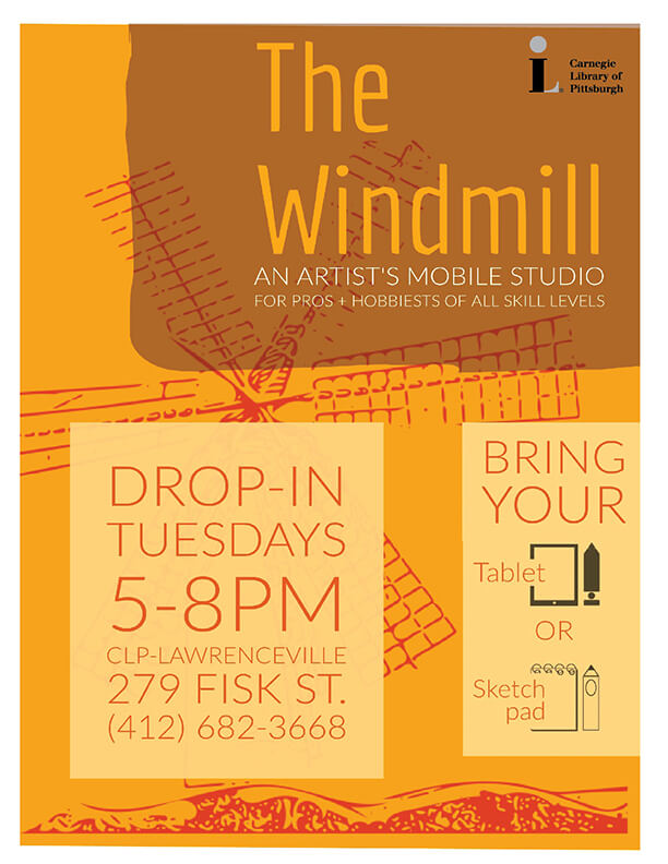 flyer for the The Windmill
