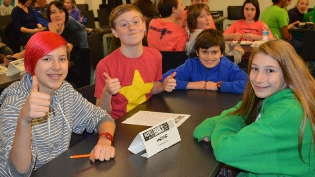 Teens at Battle of the Books
