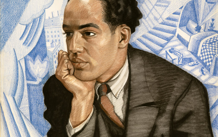the blues and langston hughes