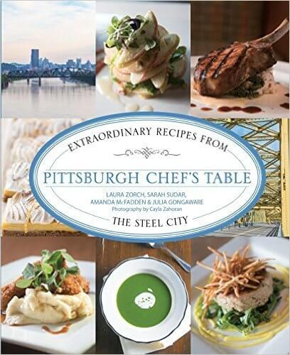 Pittsburgh Chef's Table Book Cover