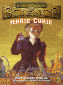 cover for Marie Curie book
