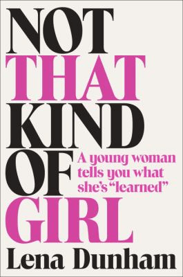 cover for Not That Kind of Girl