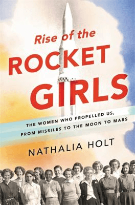 book cover for Rise of the Rocket Girls