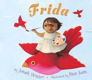 Cover art for Frida by Jonah Winter