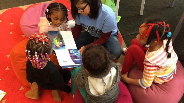 Reading Warriors in action