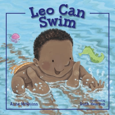 Cover of the book, Leo Can Swim