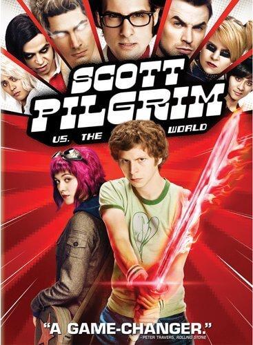 Scott Pilgrim dvd cover