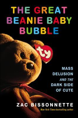 "the cover of the book featuring a teddy bear beanie baby and the iconic ""TY"" tag on the bear's ear"