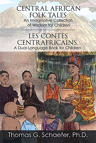 Cover art for Central African Folk Tales by Thomas G. Schaefer