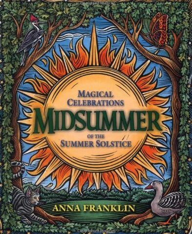 Midsummer book cover by Anna Franklin