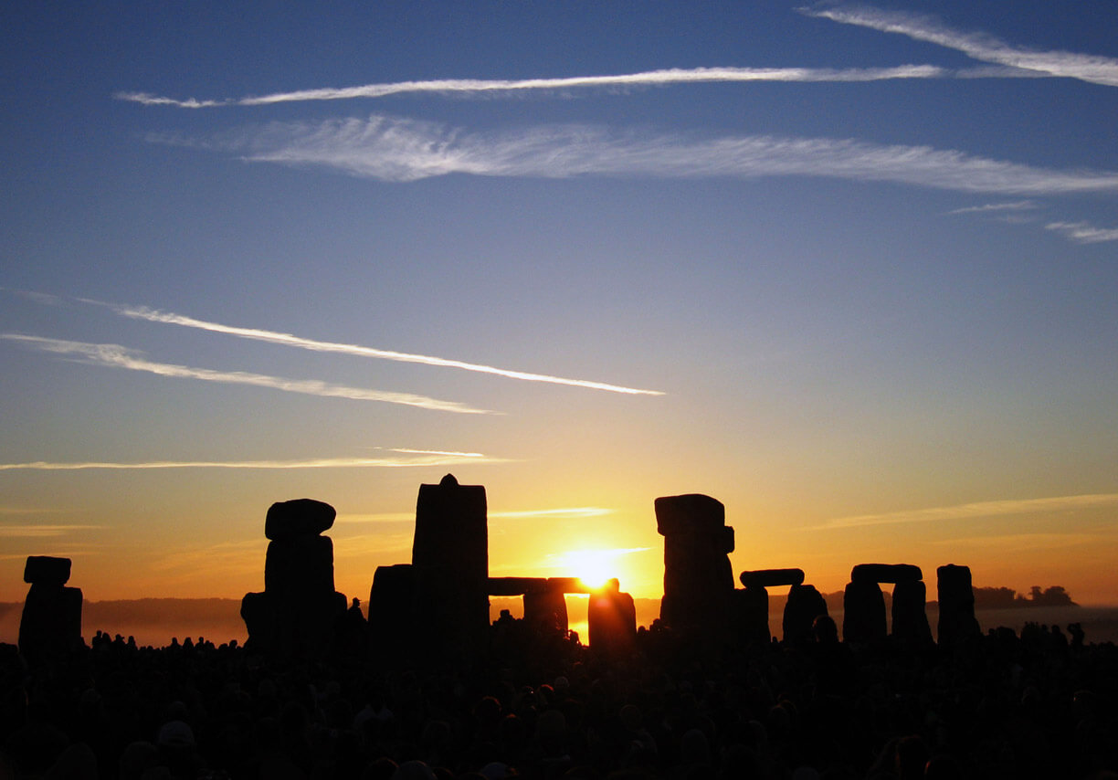 Stonehenge at Summer Solstice