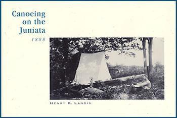 Cover art for Canoeing Juniata, 1888 by Henry K. Landis