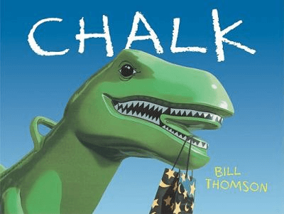 Cover for the book, Chalk.