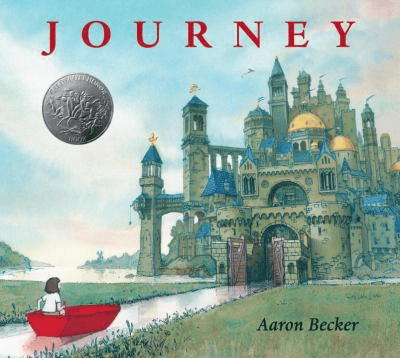 Cover for the book, Journey.