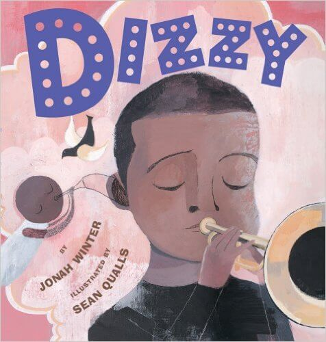 Cover art for Dizzy by Jonah Winter