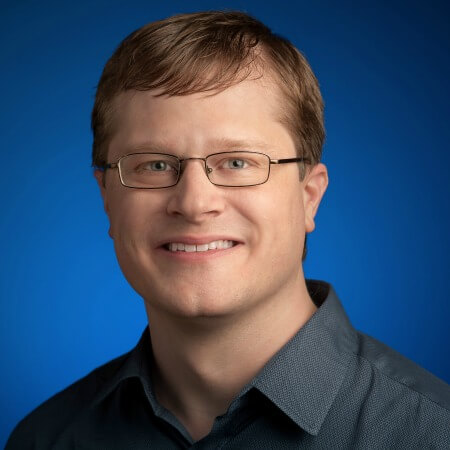 Portrait photo of Jeremy Kubica