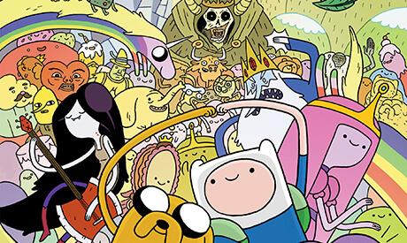 Adventure Time Vol. 1 book cover