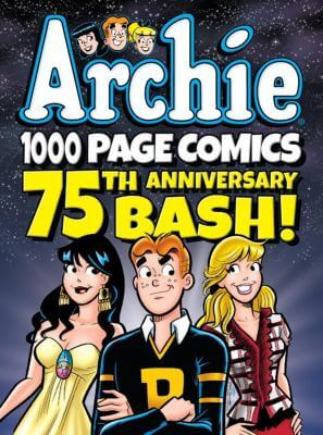 Classic Archie comics collection book cover