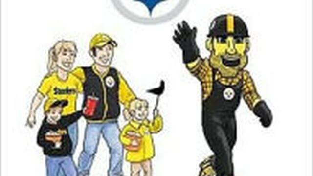 Cover art for Here We Go Steelers!