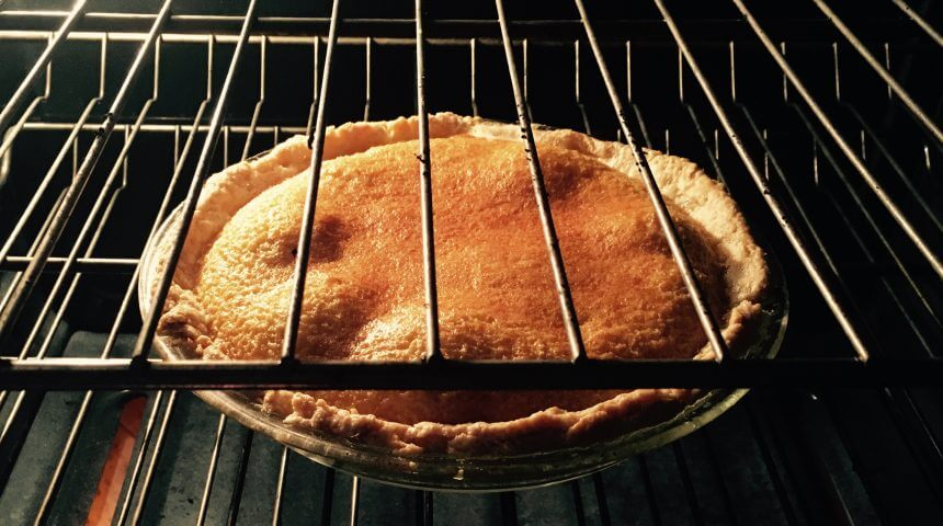 Brown Sugar Pie from Victuals cookbook.