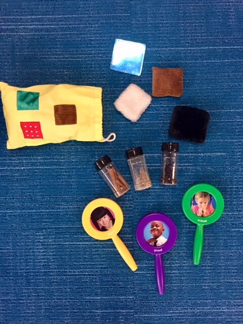 A collection of sensory activities.