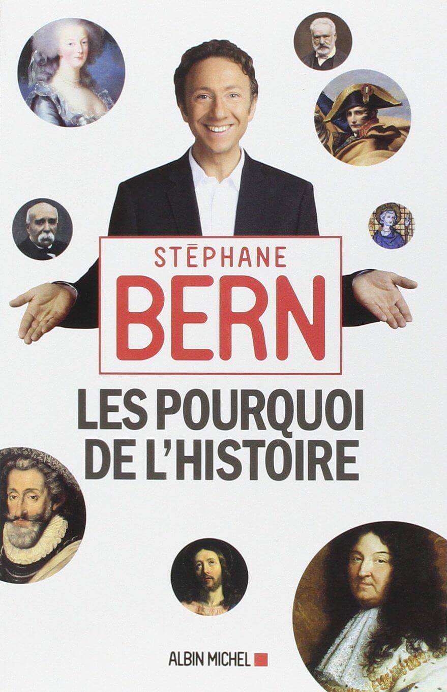 cover art of Les pourquoi de l'histoire by Stephane Bern