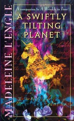 The cover of A Swiftly Tilting Planet.