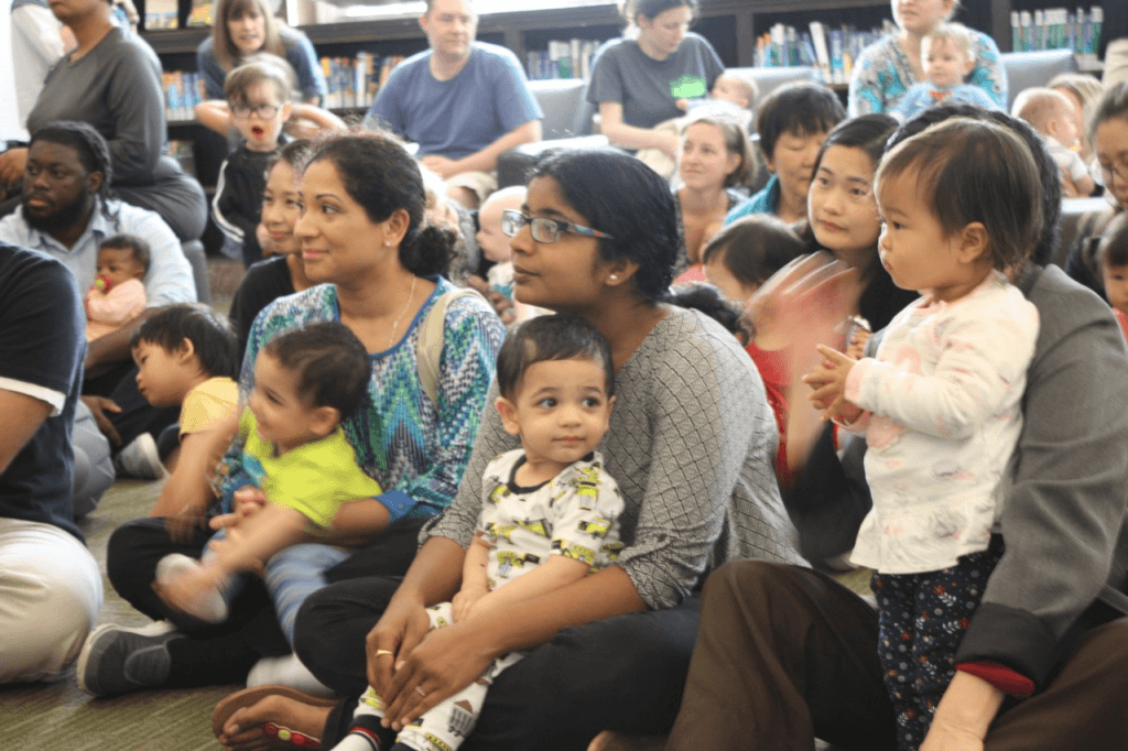 A Baby Book Shower celebration at CLP - Main.