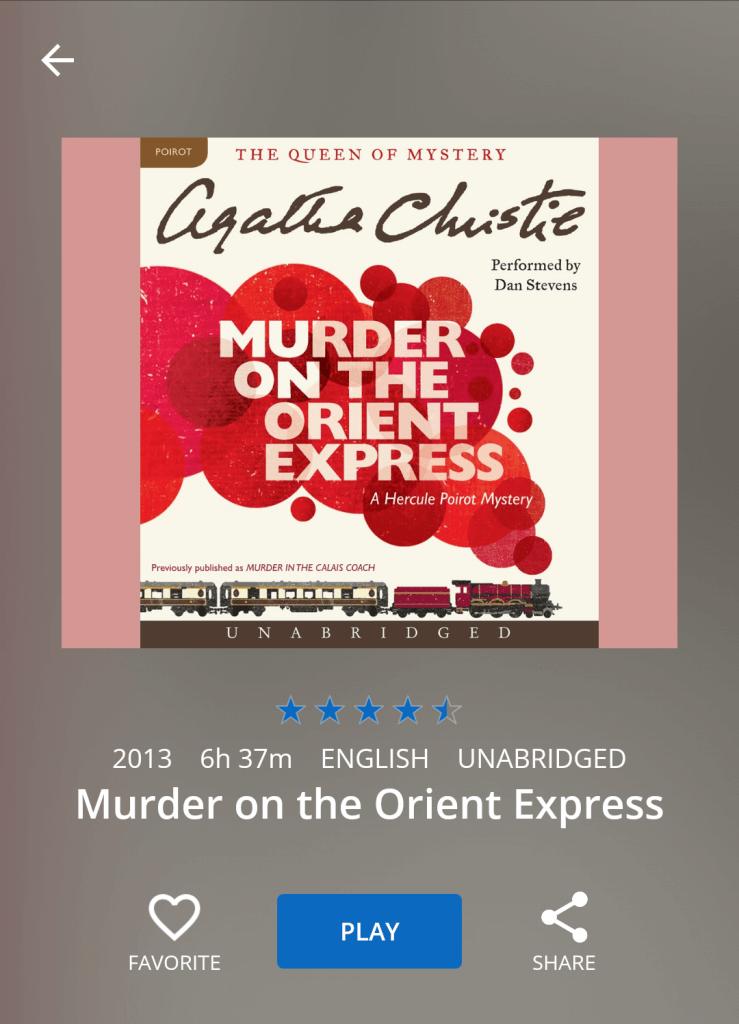 Murder audio version 1