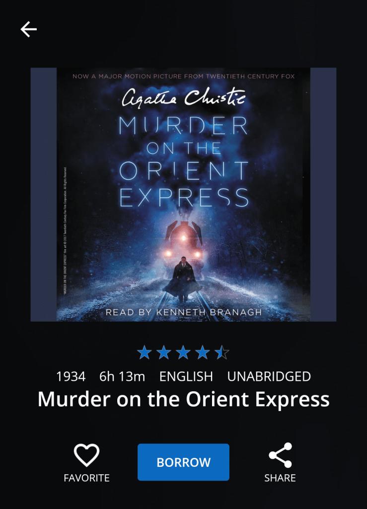 Murder audio version 2