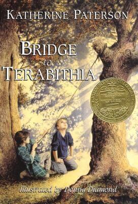 Cover of the book, Bridge to Terabithia