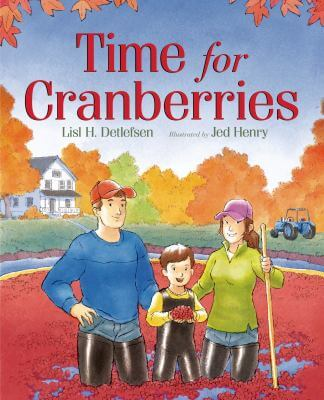"Cover of the book, ""Time for Cranberries"""