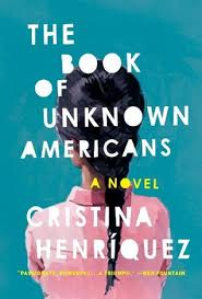 Book cover of the Book of Unknown Americans, which shows a young girl facing away.