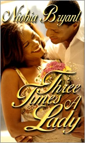 Cover of the book Three Times a Lady features a man and a woman embracing