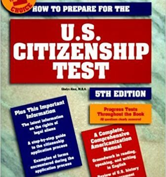 cover art of Barron's US Citizenship Test