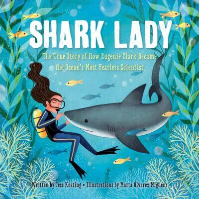 Cover of the book, Shark Lady.
