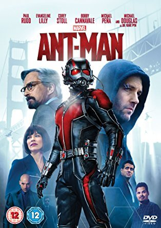 Cover of the Ant-Man dvd