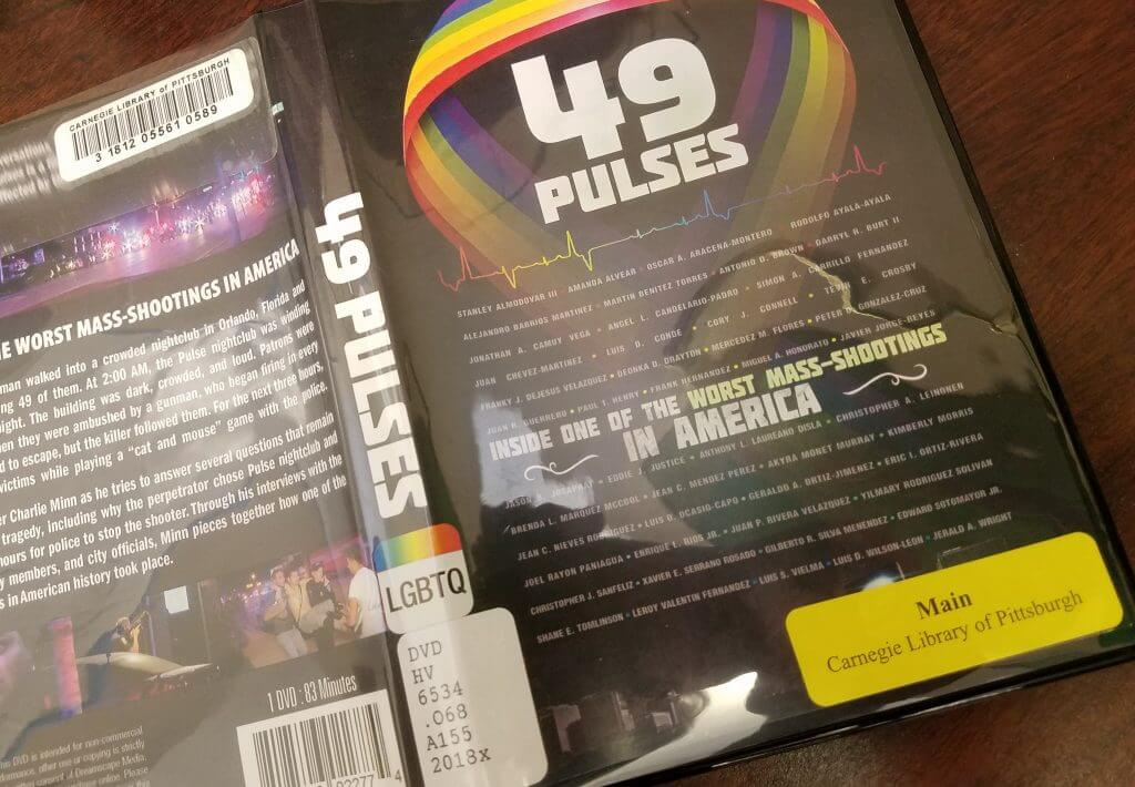 "Cover of the DVD ""49 Pulses."""